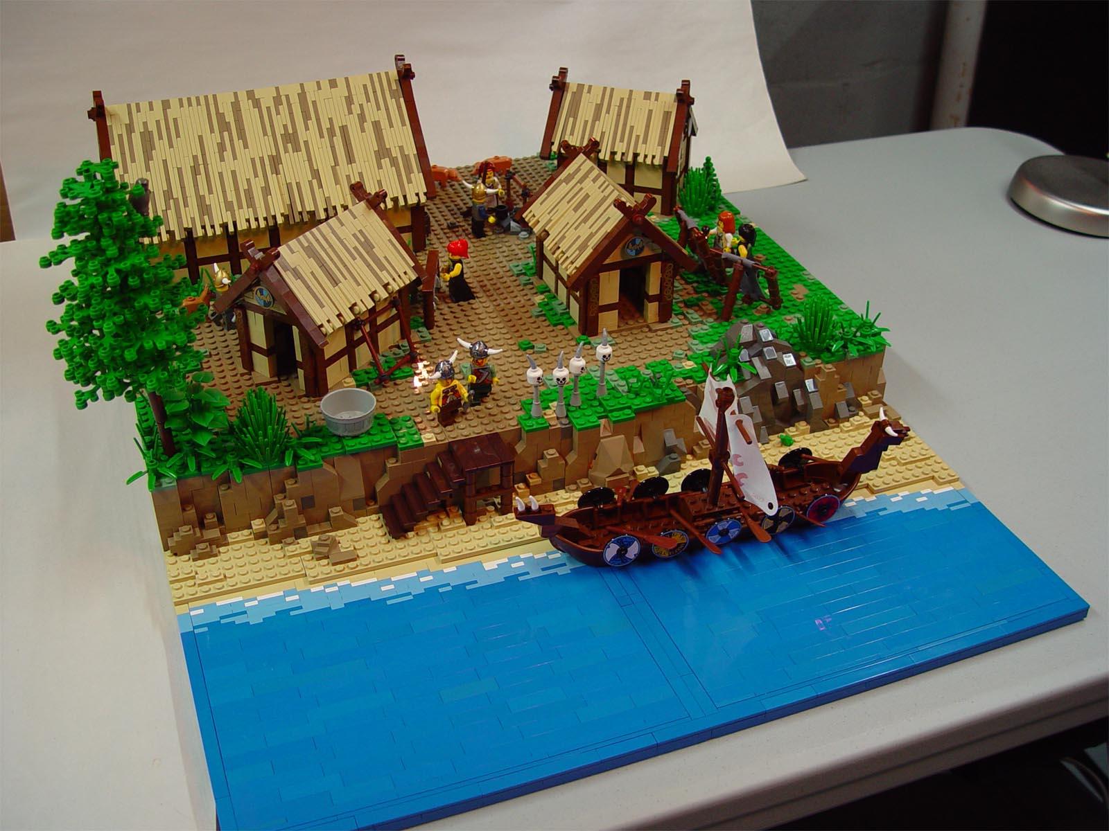 NOVA Online | The Vikings | Explore a Viking Village
